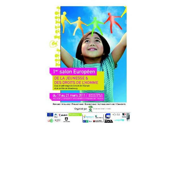 1er Salon Européen de la Jeunesse et des Droits de l'Homme