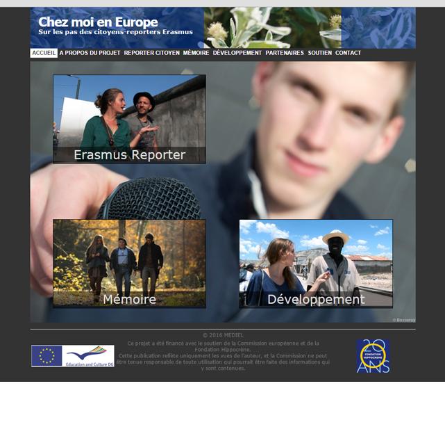 Chez moi en Europe : des étudiants Erasmus partent à la rencontre des européens