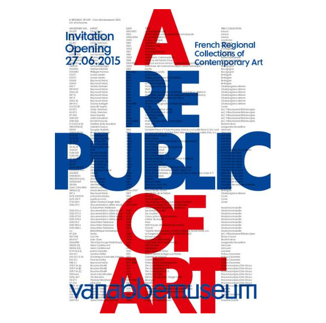 "Exposition ""A Republic of Art"" – Les collections des FRAC au Van Abbemuseum."