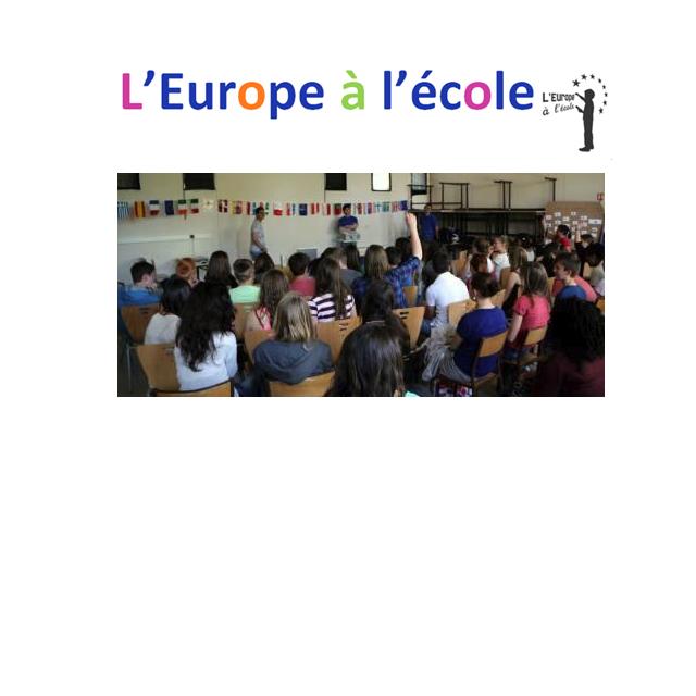 L'Europe à l'École