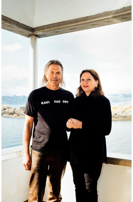 Monsieur et Madame Hoff à la Kaviar Factory