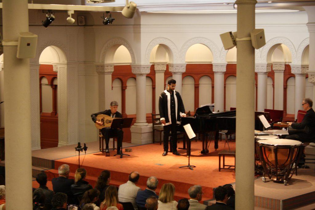 Poème soufi et improvisation sur le Oud