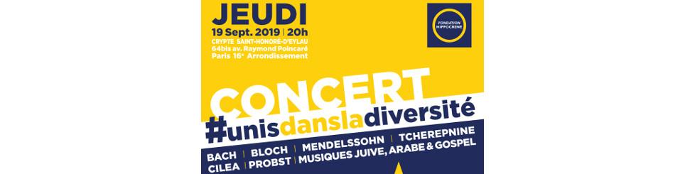 Concert # unis dans la diversité